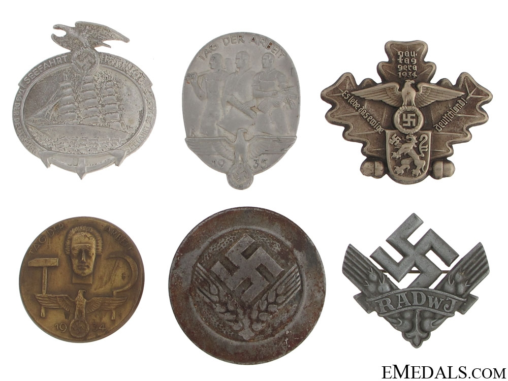 eMedals-German Tinnies & Badges