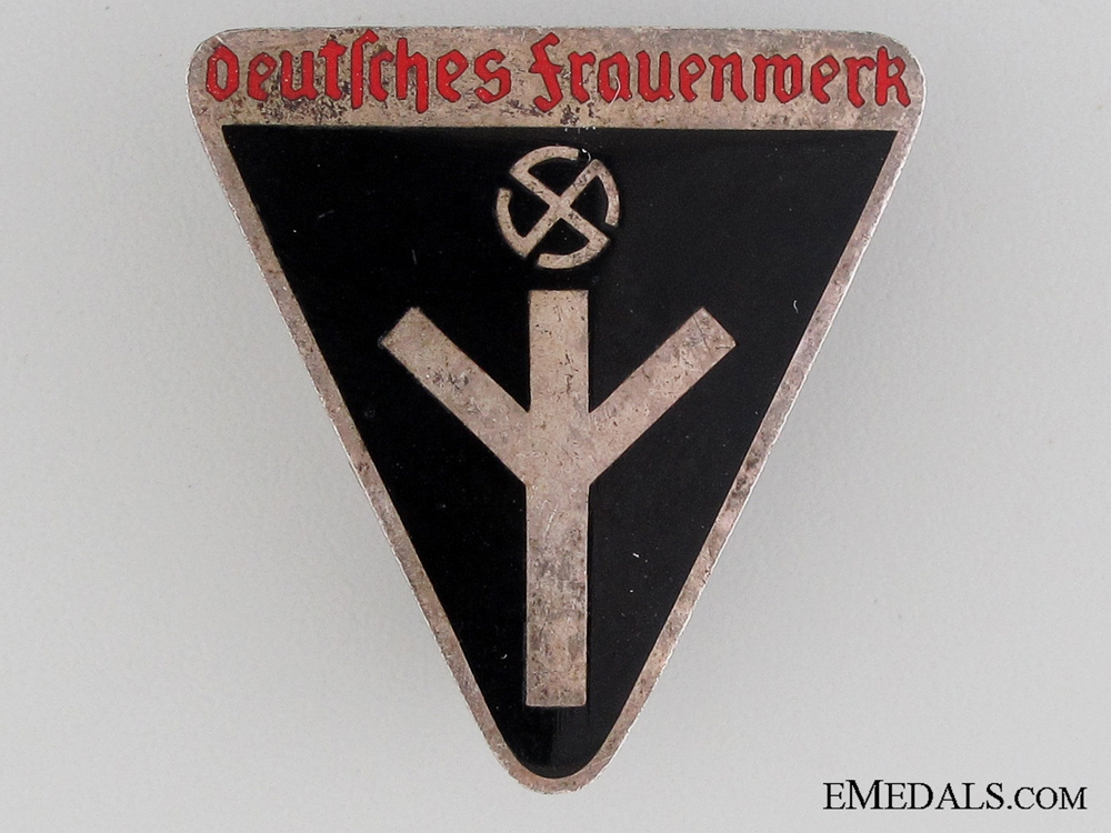 eMedals-German Women's Work Membership Badge