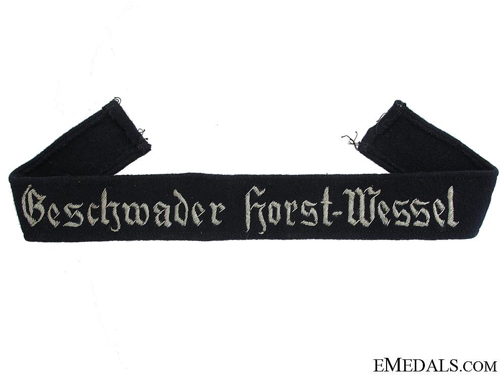 eMedals-Geschwader Horst Wessel Cufftitle
