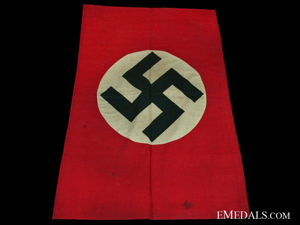 "eMedals-NSDAP/ National ""Trophy"" Flag"
