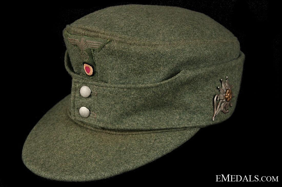 eMedals-Army EM/NCOs Gebirgjager Bergmutze