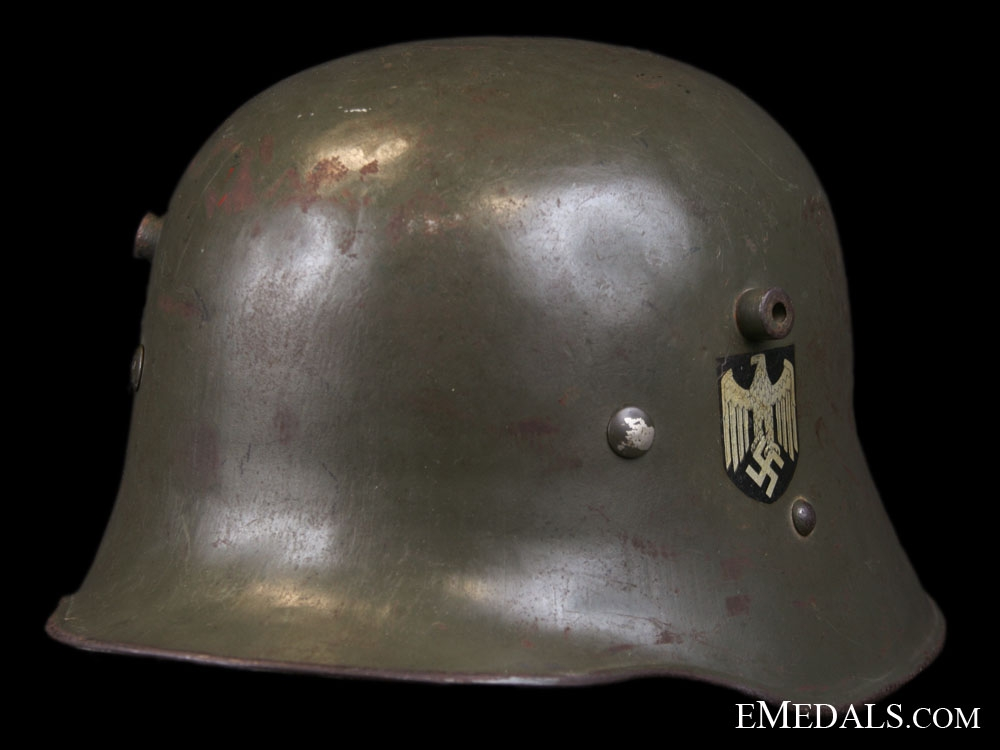 eMedals-M16 Double Decal Austrian Made Transitional Army Helmet
