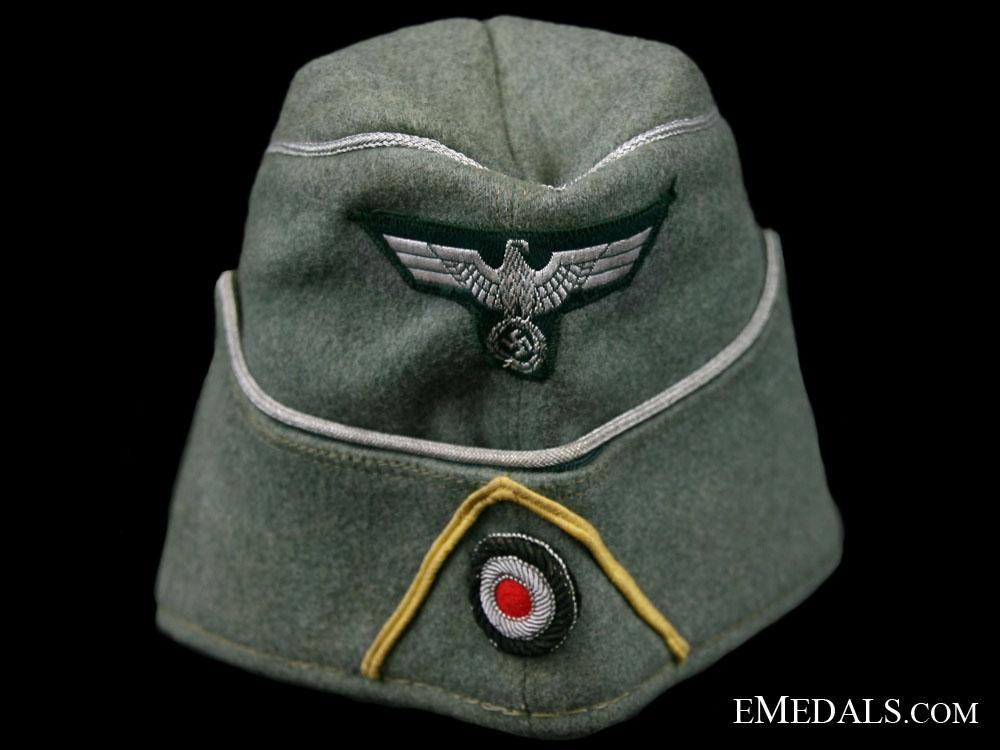 eMedals-Signals Officers Overseas Cap