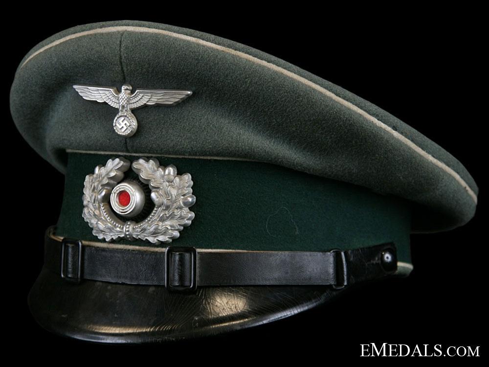eMedals-Infantry NCO/EM Visor Cap