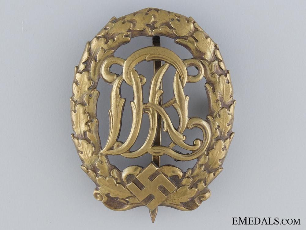 eMedals-Gold Grade DRL Sport Badge; 3rd Model