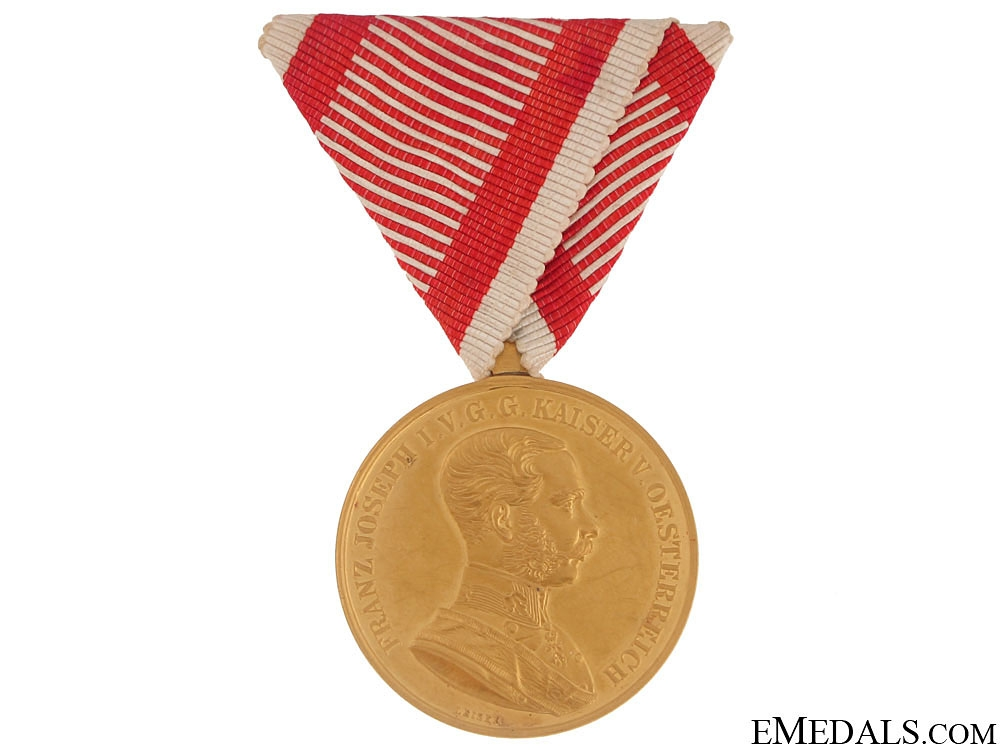 eMedals-Golden Bravery Medal – in Gold