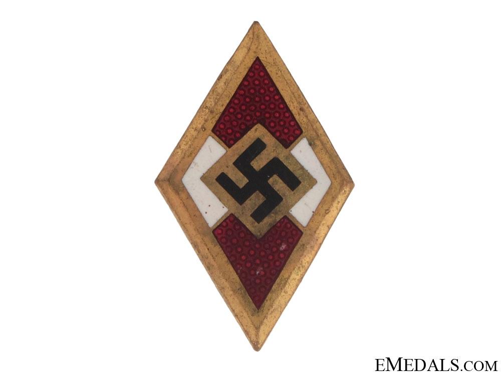 eMedals-Golden HJ Badge