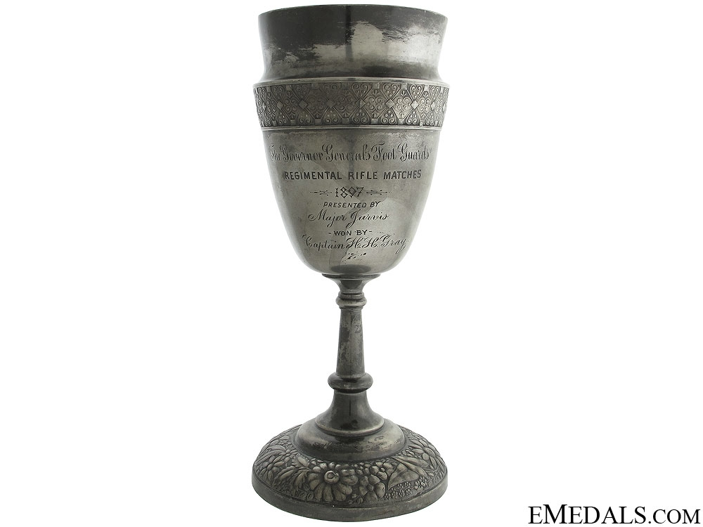 eMedals-Governor General's Foot Guards Trophy 1897