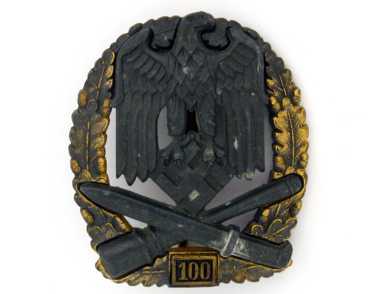 "eMedals-General Assault Badge ""100"""