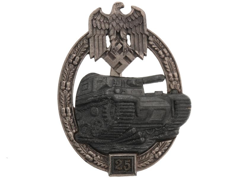 eMedals-Panzer Assault Badge Grade II