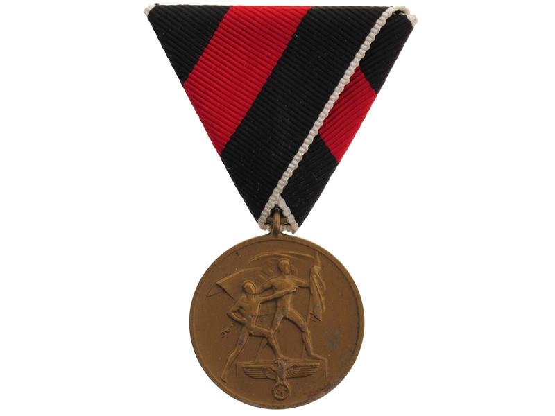 eMedals-Commemorative Medal 1.Oktober 1938