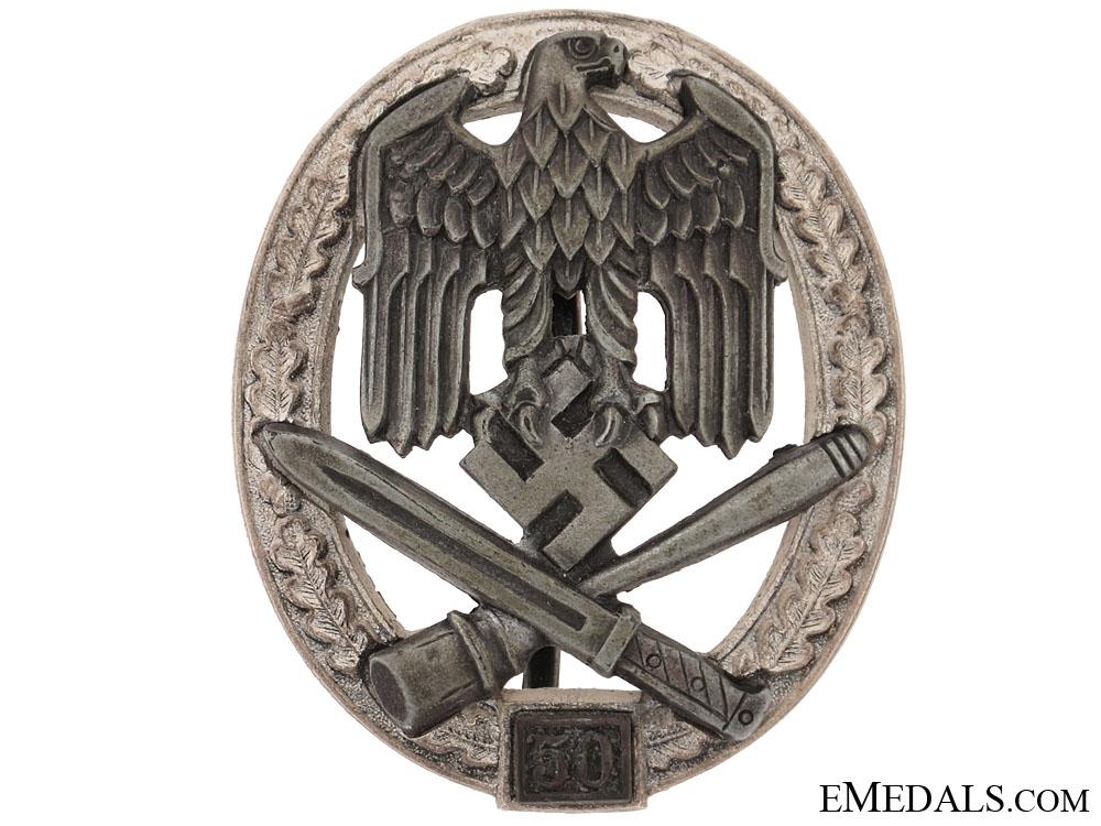 eMedals-General Assault Badge 50