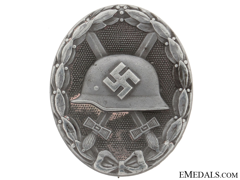 eMedals-Wound Badge  Silver Grade