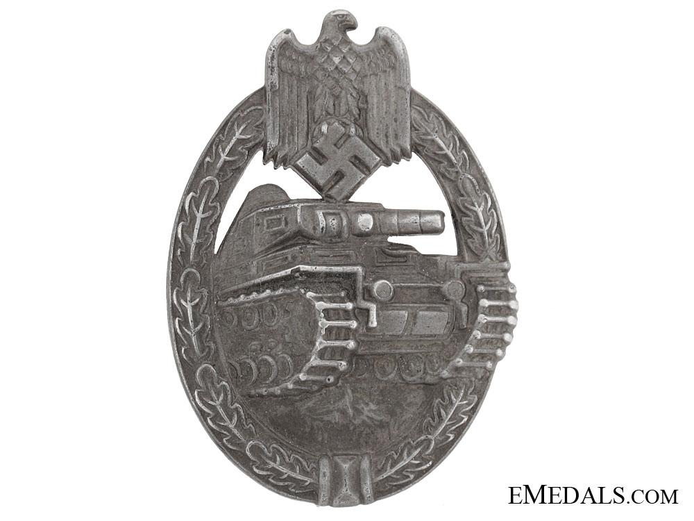 eMedals-Tank Badge  Silver Grade