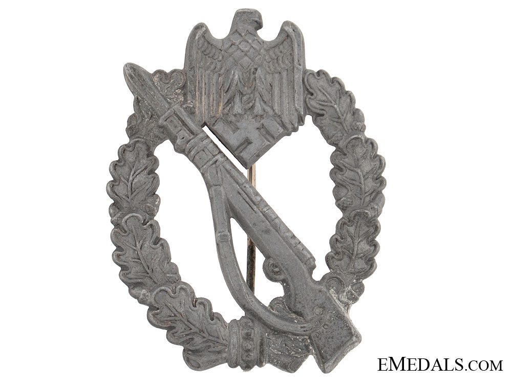 eMedals-Infantry Badge  Silver Grade