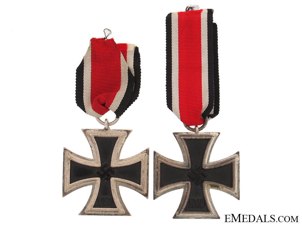 eMedals-Two Iron Crosses Second Class 1939