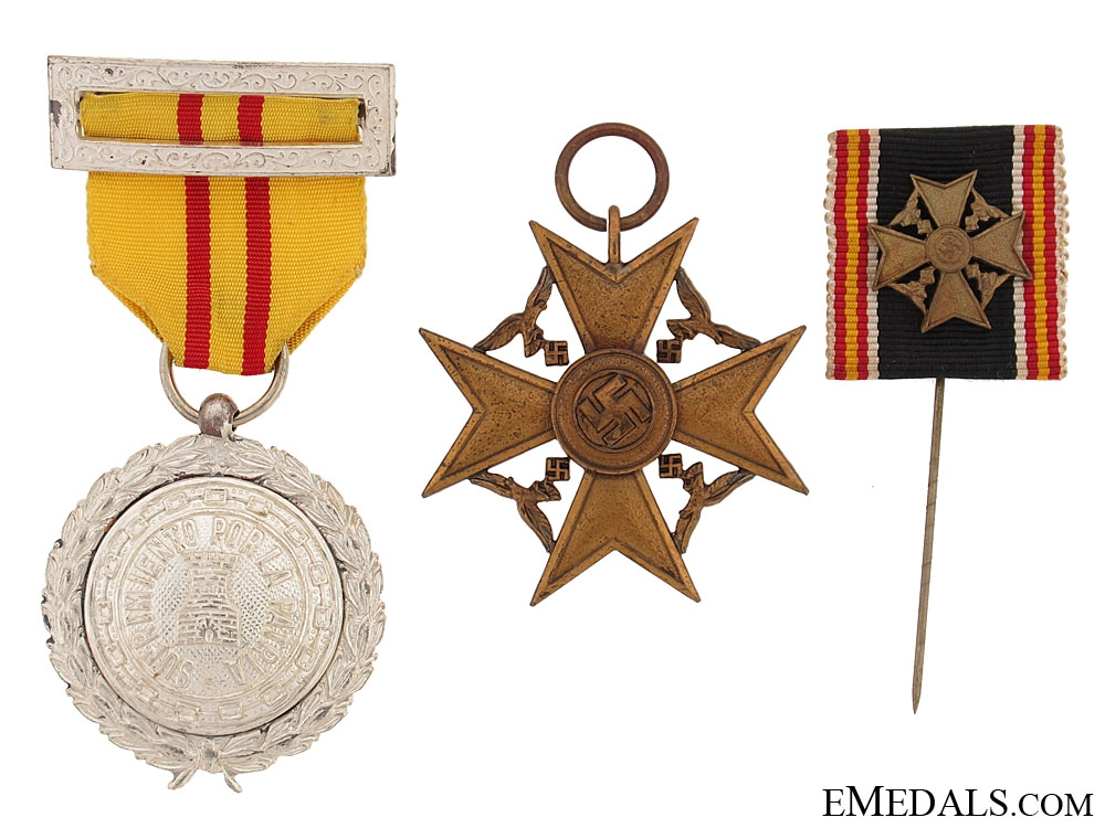 eMedals-Spanish Cross for Next-of-Kin