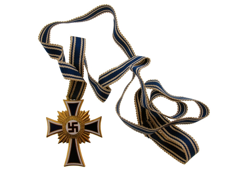 eMedals-Mother's Cross in Gold Grade