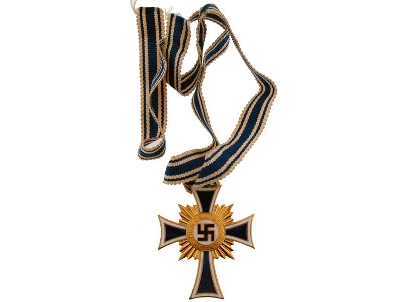 eMedals-Mother's Cross Gold Grade
