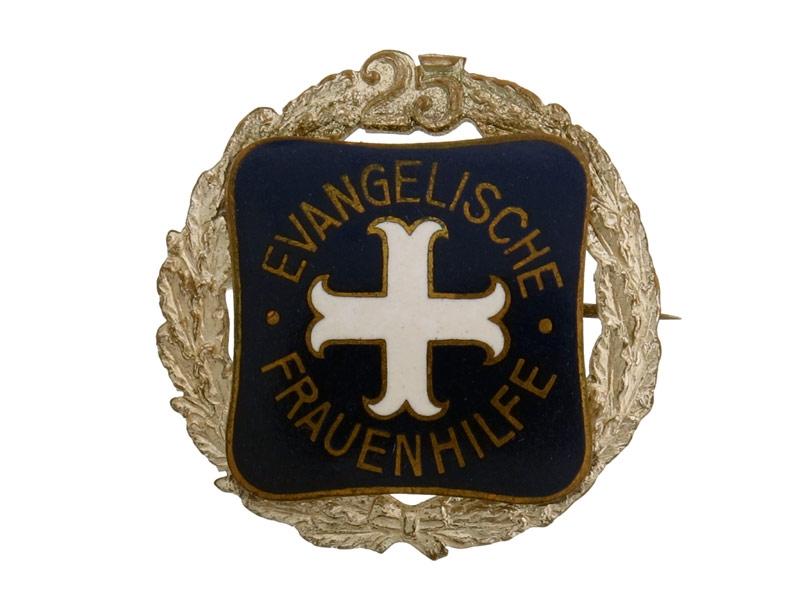 eMedals-Evangelische Frauenhilfe 25 Years Badge