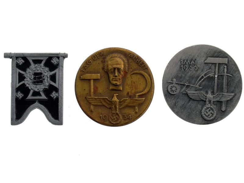 eMedals-Lot of Three Tinnies