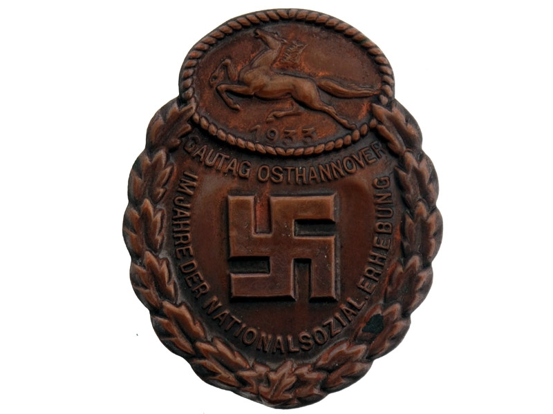eMedals-Gau Honor Badge East Hannover