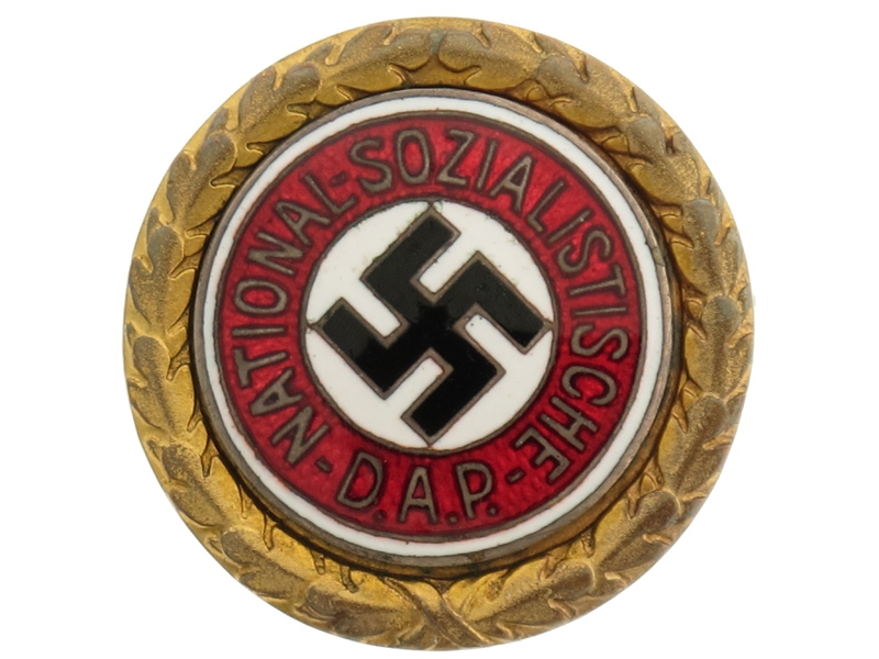 eMedals-Golden Party Badge