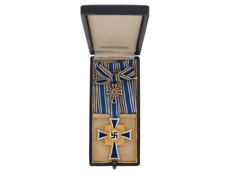 eMedals-Mother's Cross, Gold Grade