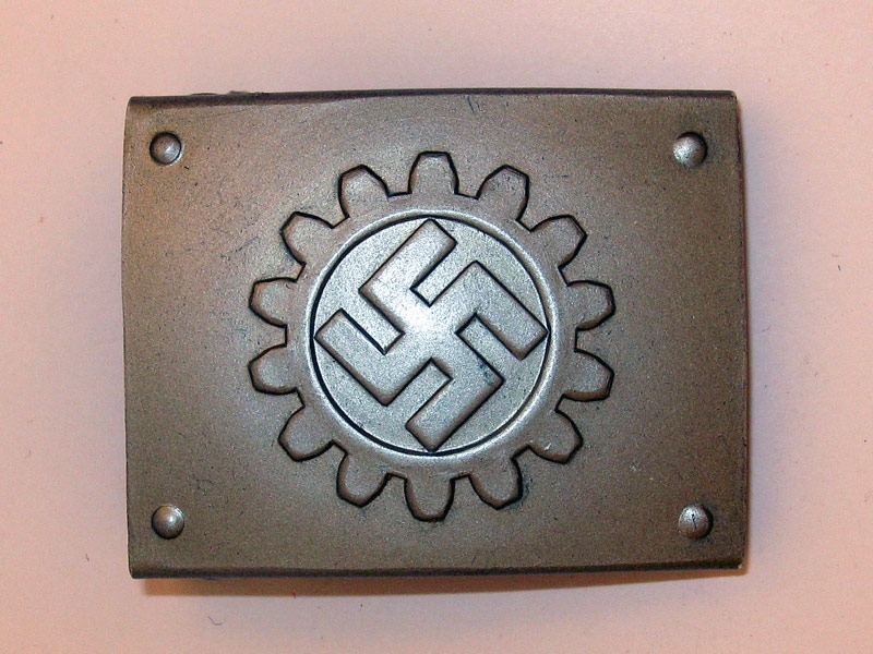 eMedals-DAF Belt Buckle,
