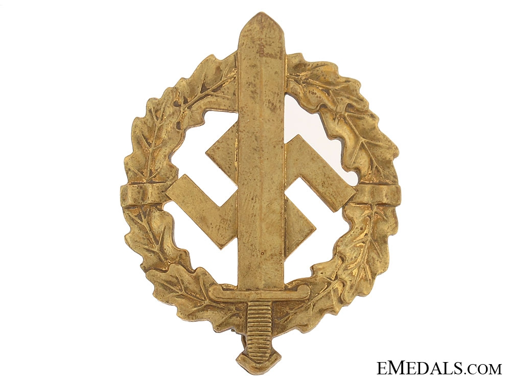 eMedals-SA Defense Badge  Gold Grade