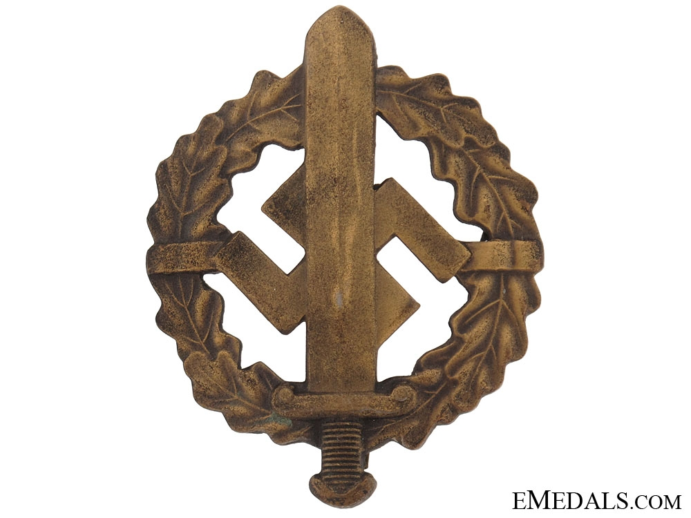 eMedals-SA Defense Badge  Bronze Grade