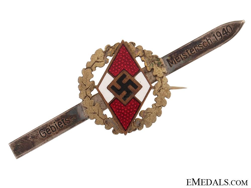 eMedals-HJ Master Skiing Award 1940