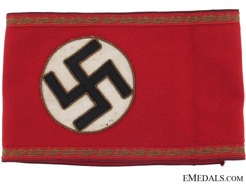 eMedals-Gau Level Political Leaders Armband