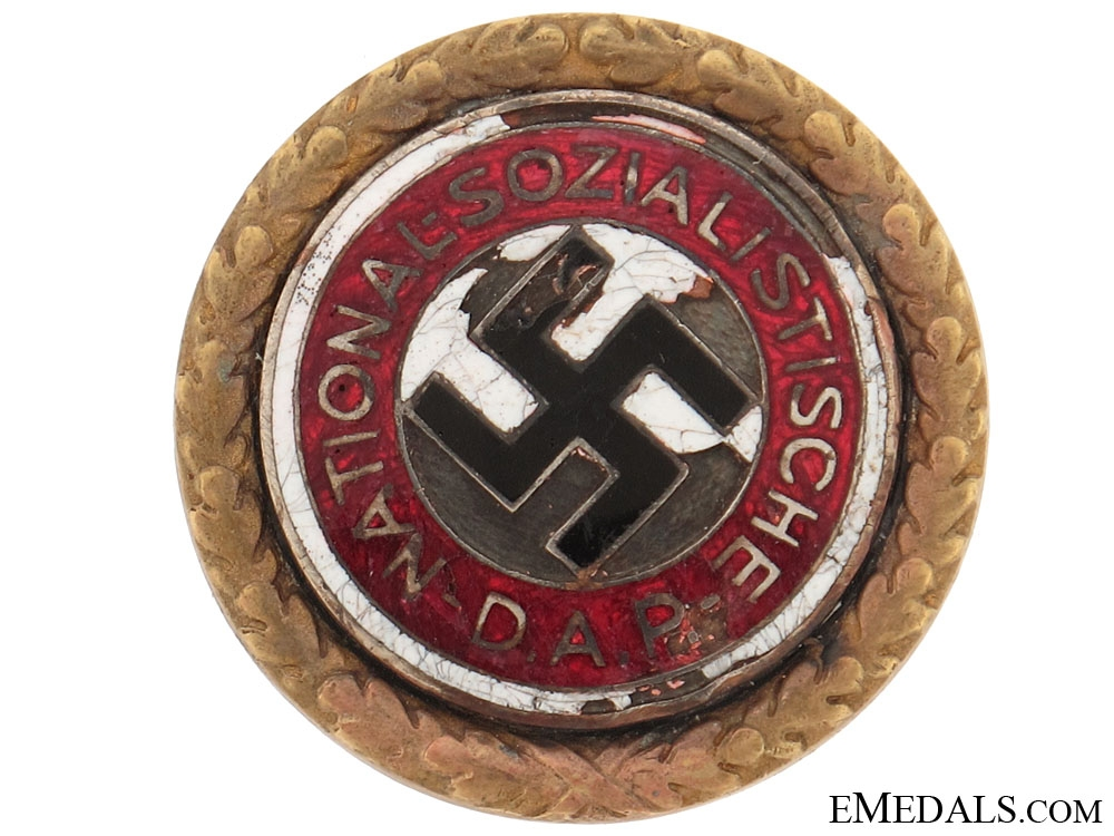 eMedals-NSDAP Golden Party Badge
