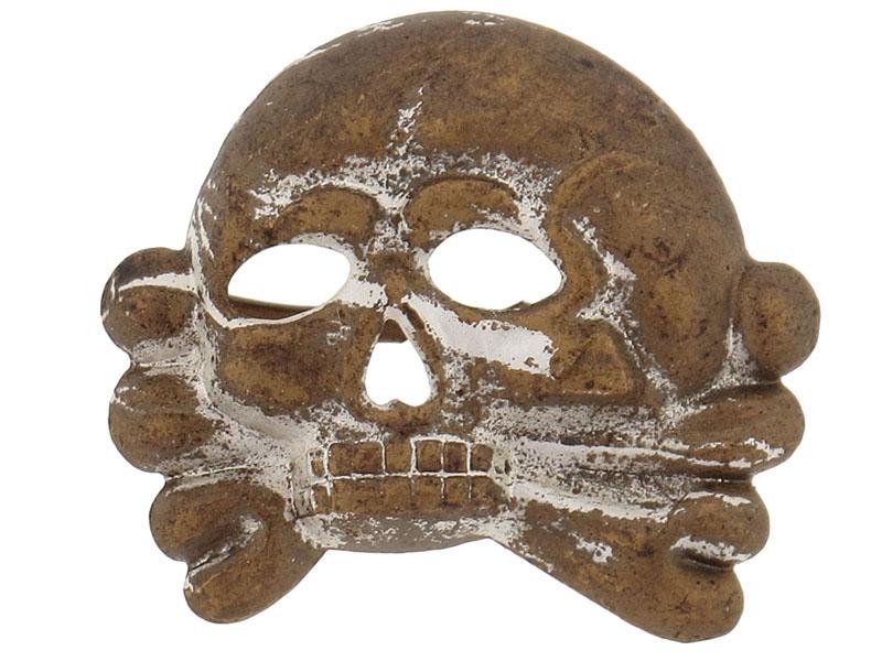 eMedals-SS-Skull 1st. Model for Visor Cap