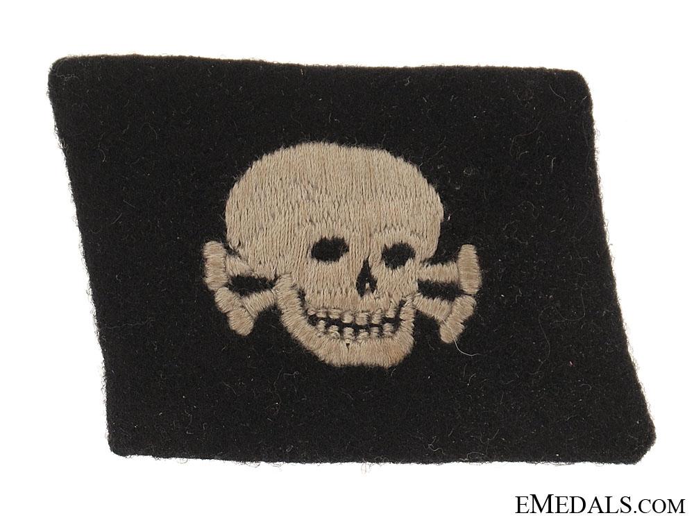 eMedals-SS EM/NCOs Totenkopf Collar Tab