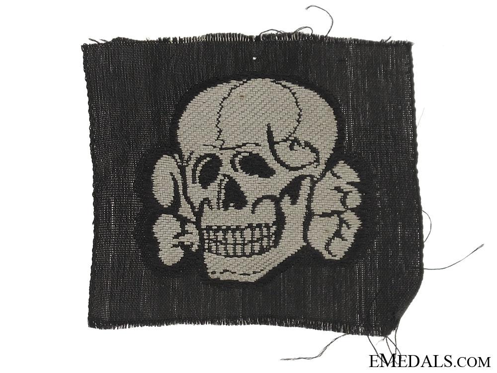 eMedals-Totenkopf for Waffen-SS Cap
