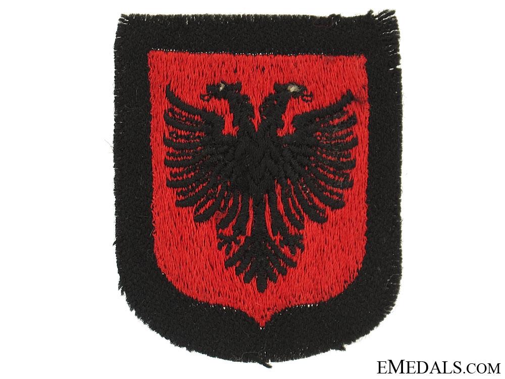 eMedals-Albanian SS Volunteer Sleeve Shield