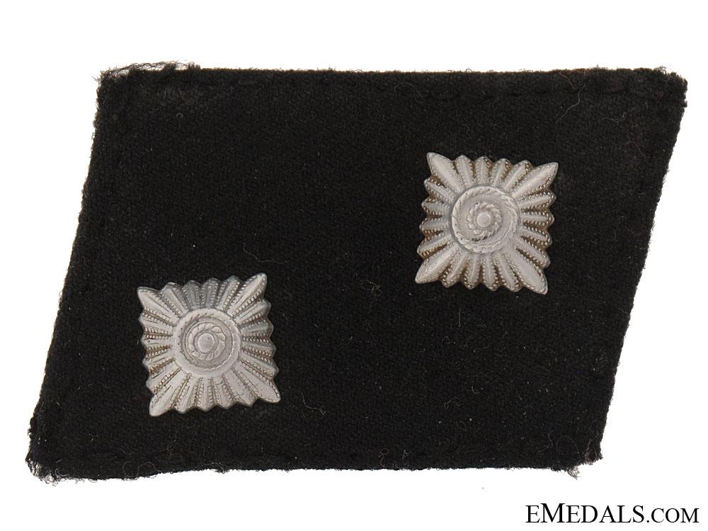 eMedals-Oberscharfhrer Collar Tab
