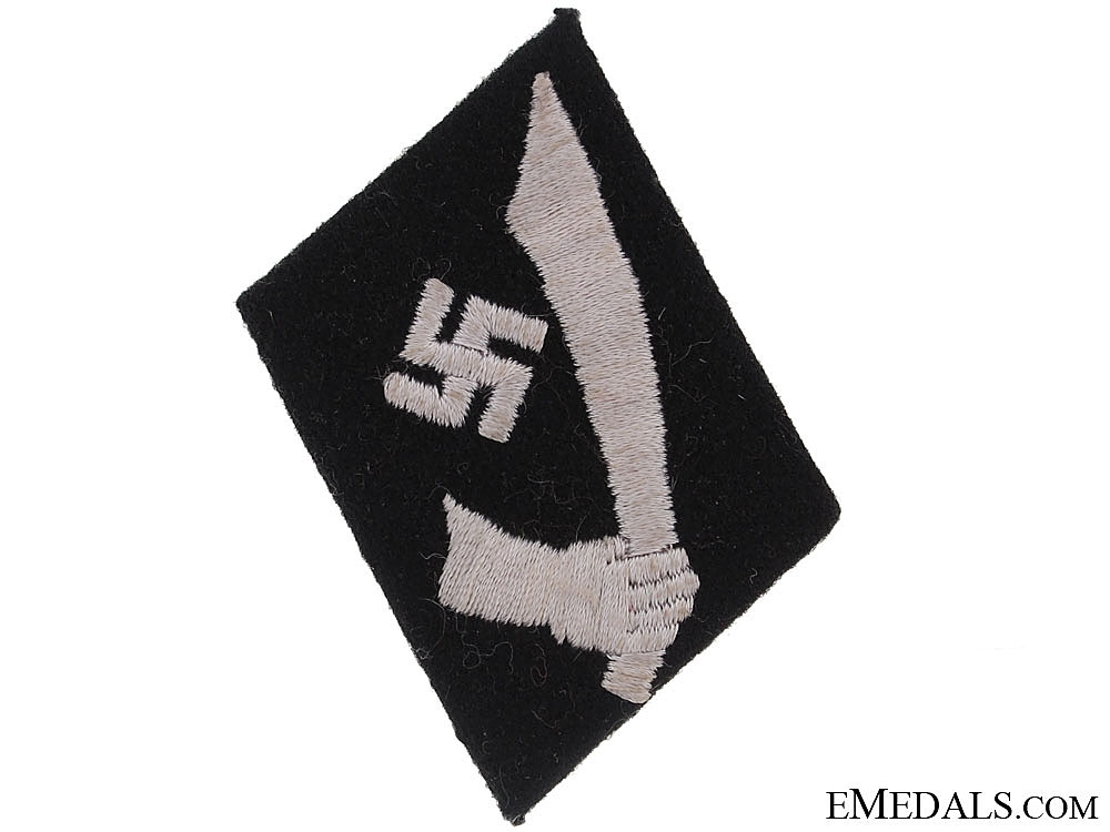 eMedals-Collar Tab of the 13th. Waffen-SS Mountain Division Handschar