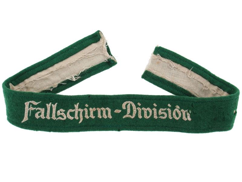 "eMedals-""Fallschirm-Division"" Cufftitle"