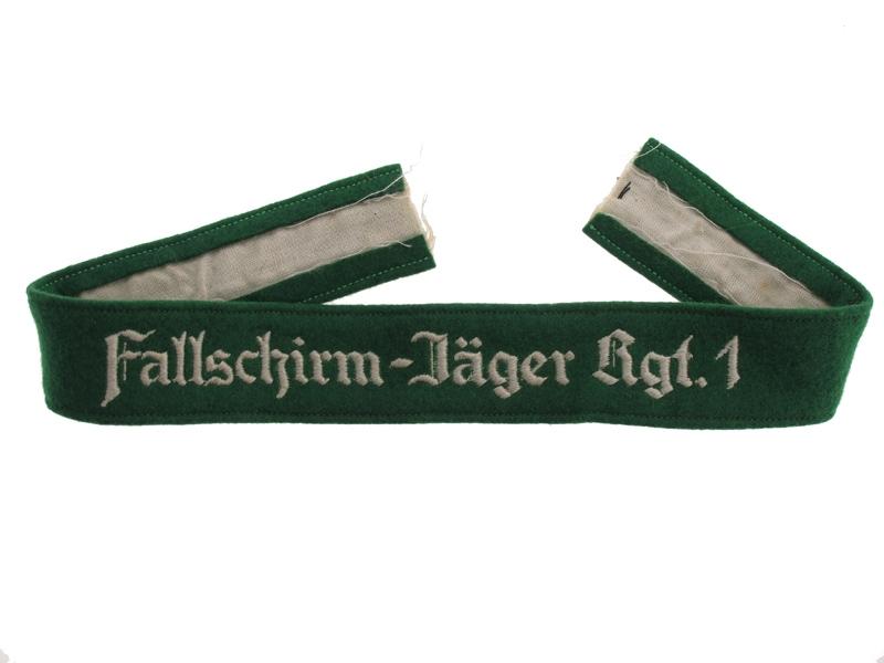 eMedals-Fallschirm-Jäger Rgt.1 – Cufftitle