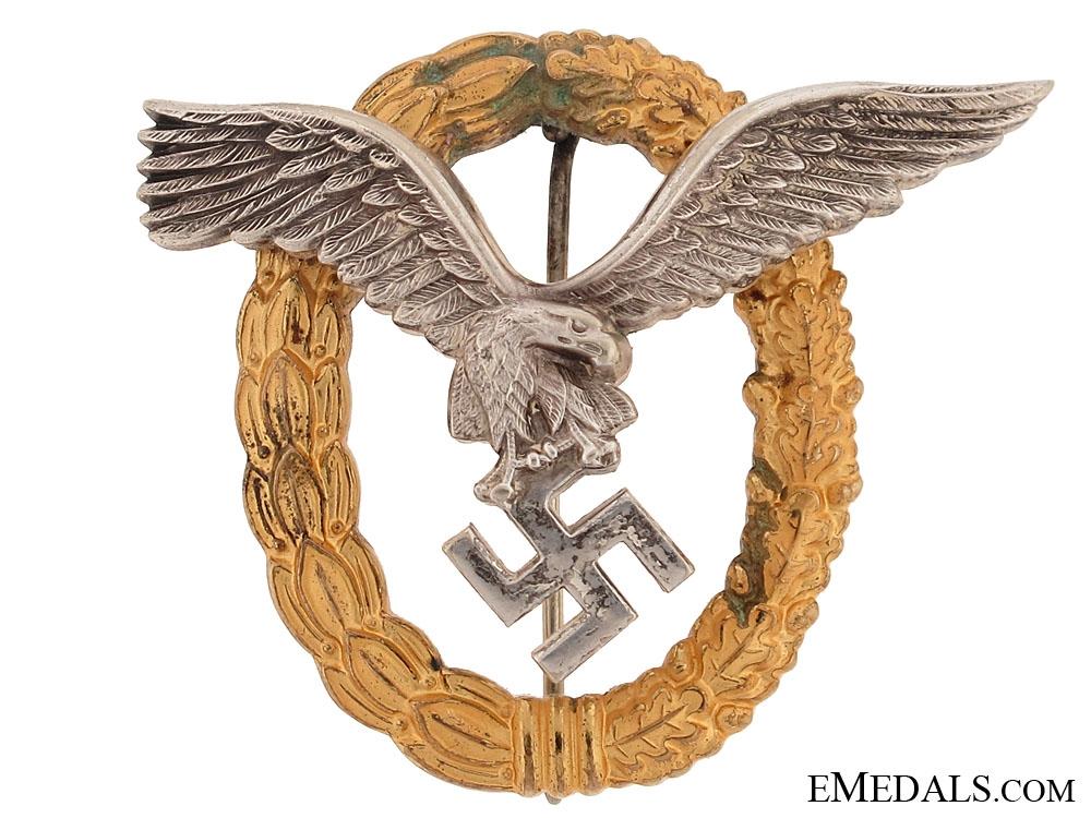 eMedals-Combined Pilot's/Observers Badge