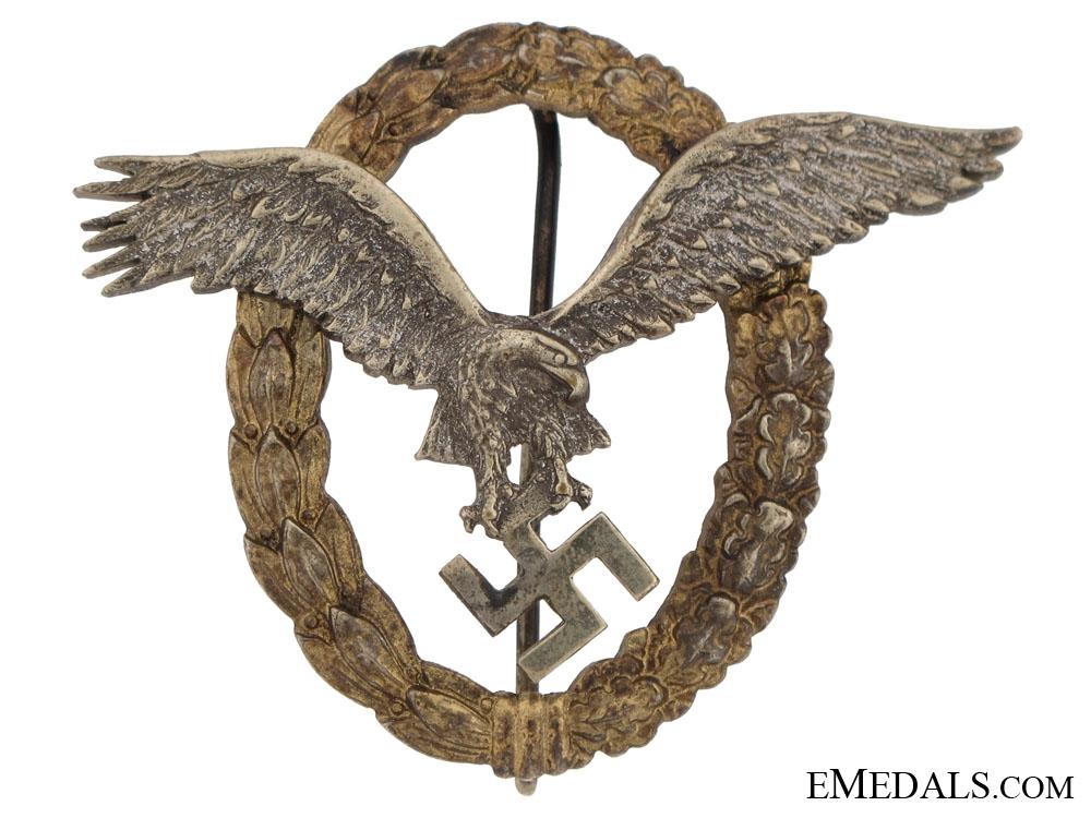 eMedals-Combined Pilot's/Observers Badge  CEJ