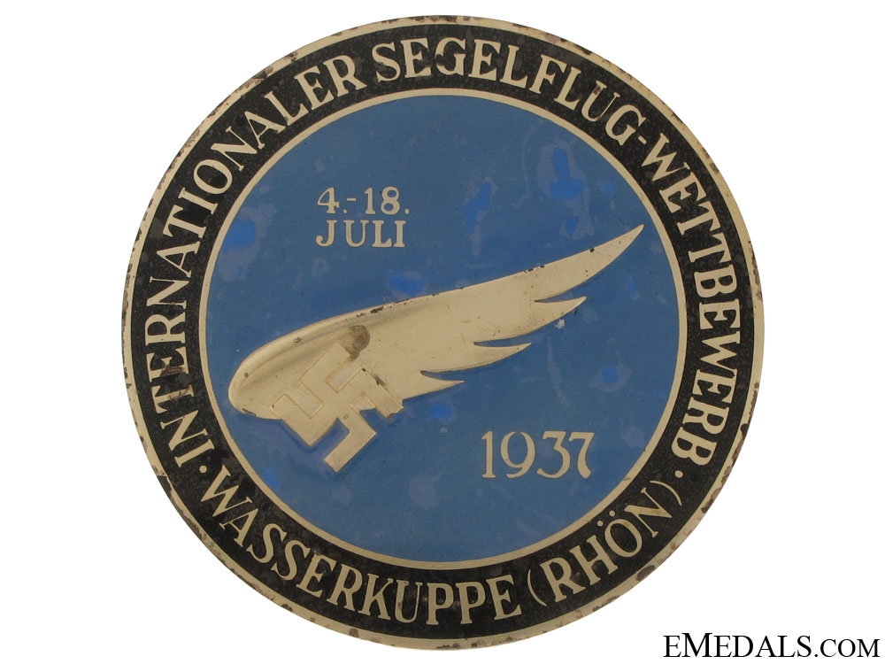 eMedals-Luftwaffe Table Medal 1937