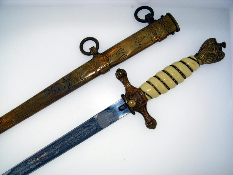 eMedals-Naval Dagger by C. Eickhorn