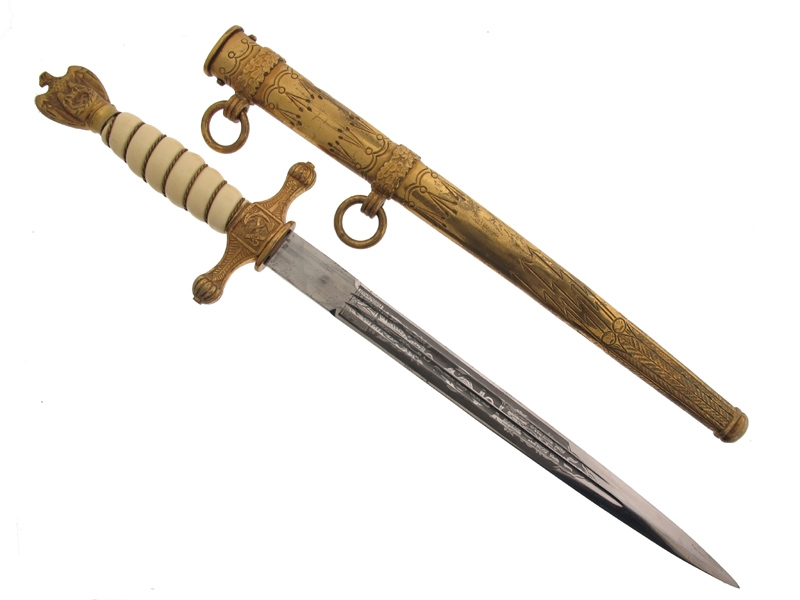 eMedals-Naval Dagger by Carl Eickhorn