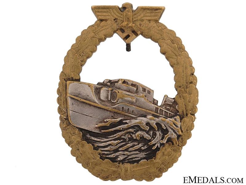 eMedals-E-Boat Badge