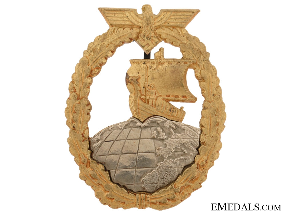 eMedals-Naval Auxiliary Cruiser War Badge