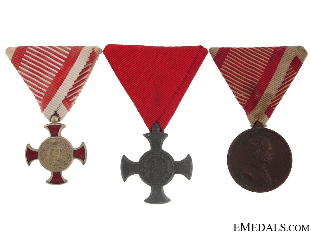 eMedals-Group of Three Austrian Awards